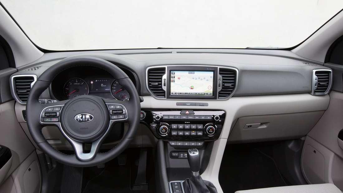 Kia Sportage SUV 2016