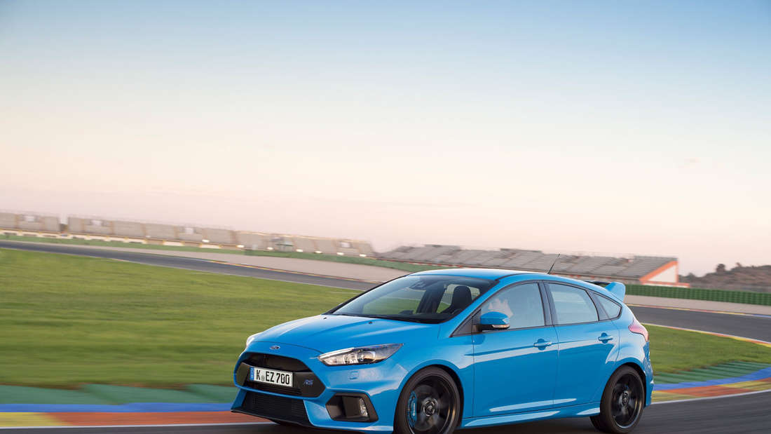 Ford Focus RS 2016 mit 350 PS.