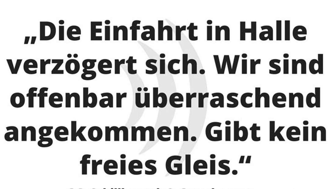 Bahn-Ansagen, Twitter, Facebook
