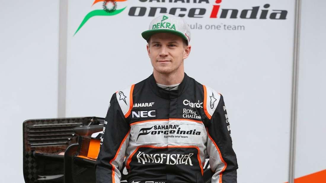 Nico Hülkenberg, Force India, Formel 1, dpa