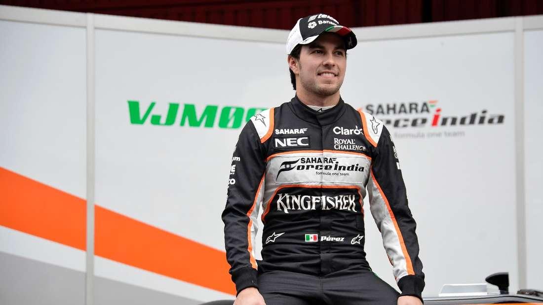 Sergio Perez, Formel 1, afp