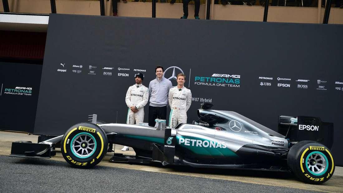 Mercedes, Formel 1, afp