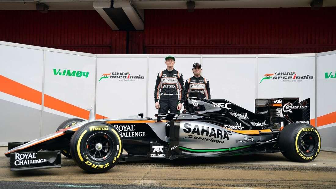 Force India, Formel 1