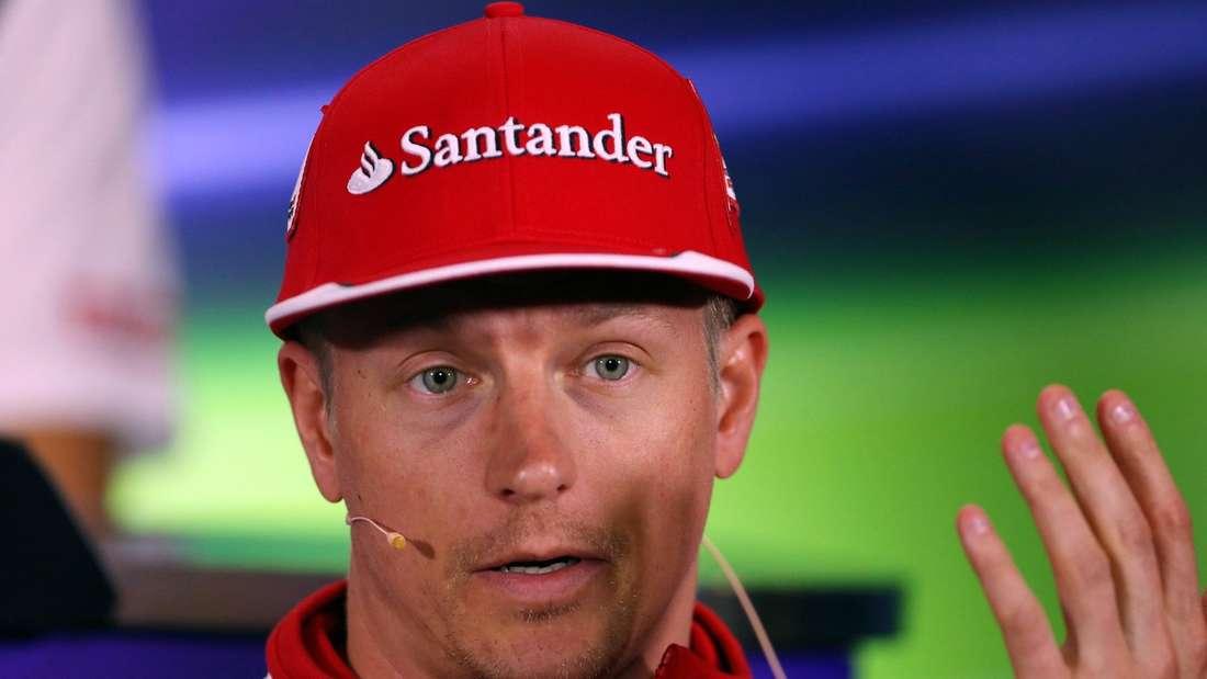 Kimi Räikkönen geht in seine insgesamt sechste Saison mit der Scuderia Ferrari und wurde dort in seiner ersten Etappe Weltmeister im Jahr 2007.
