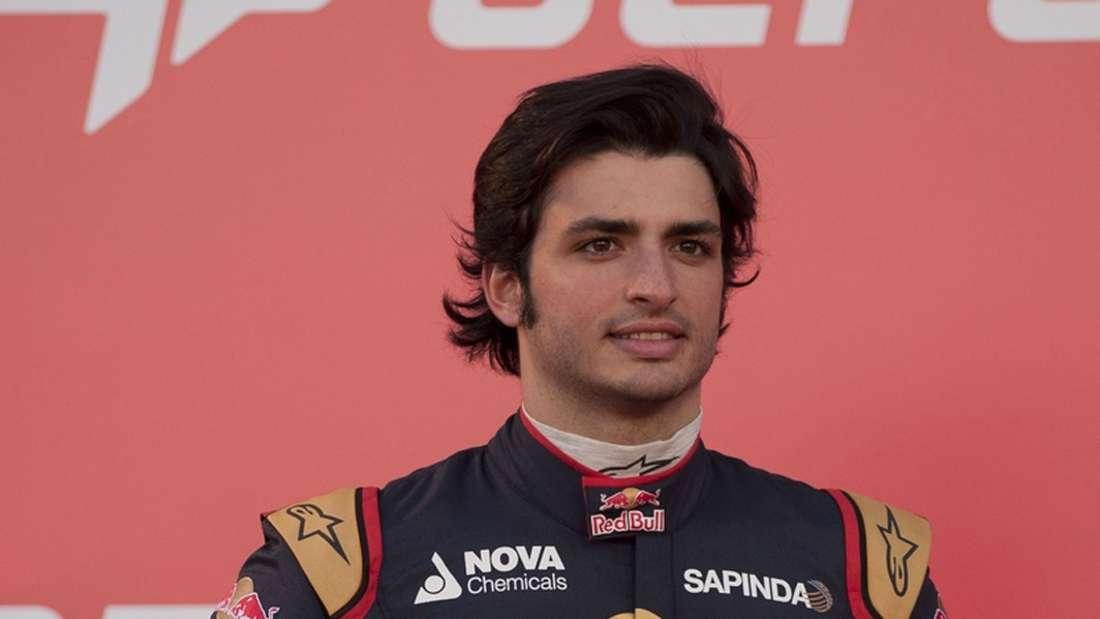 Carlos Sainz Jr., Toro Rosso, Formel 1, afp