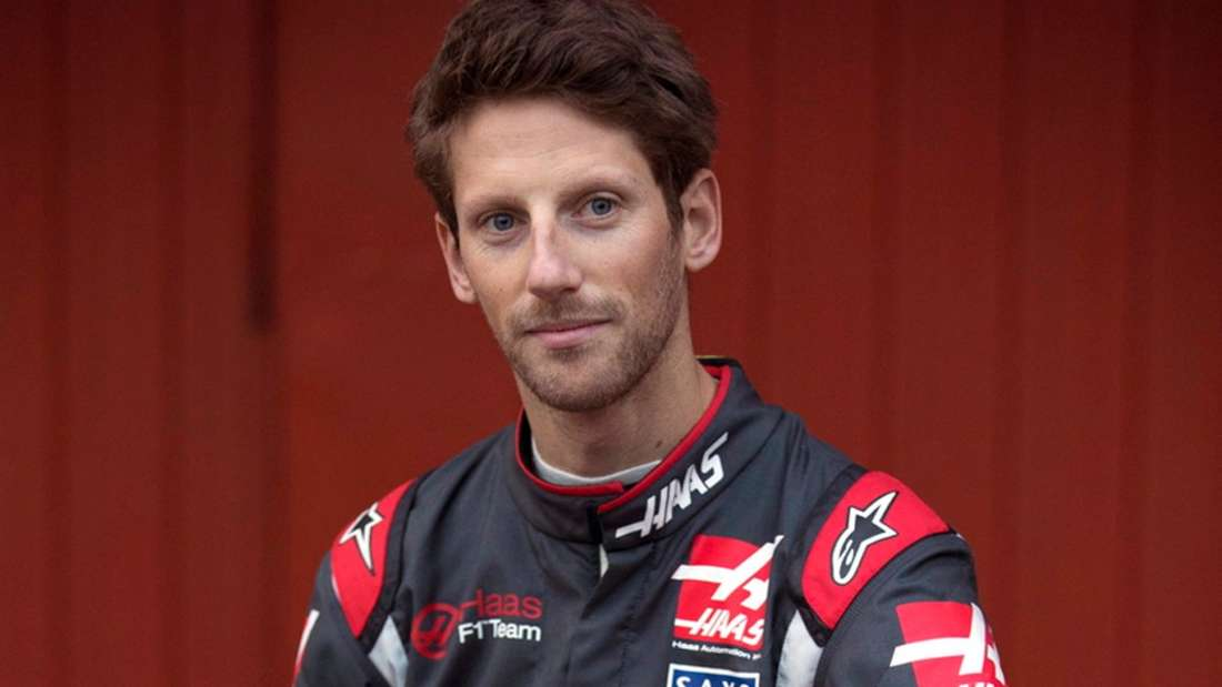 Romain Grosjean, Haas F1, Formel 1, dpa