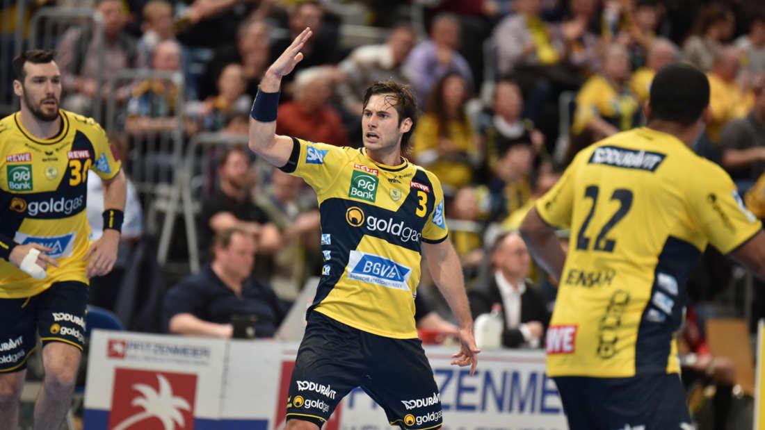 Kapitän Uwe Gensheimer will mit seinen Löwen ins Final Four einziehen.