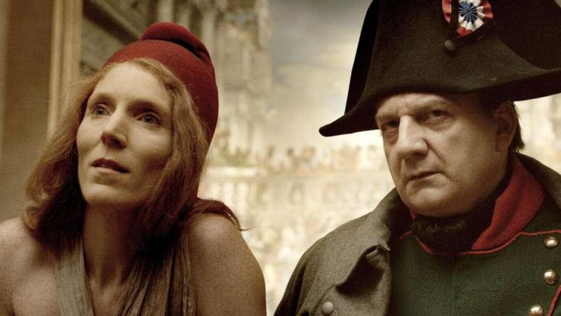 Szene aus dem Kinofilm «Francofonia» mit Johanna Altes und Vincent Nemeth. Foto: Piffl Medien