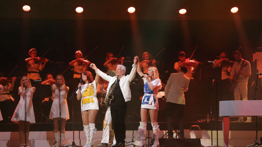 ABBA the Show in der SAP Arena Mannheim.