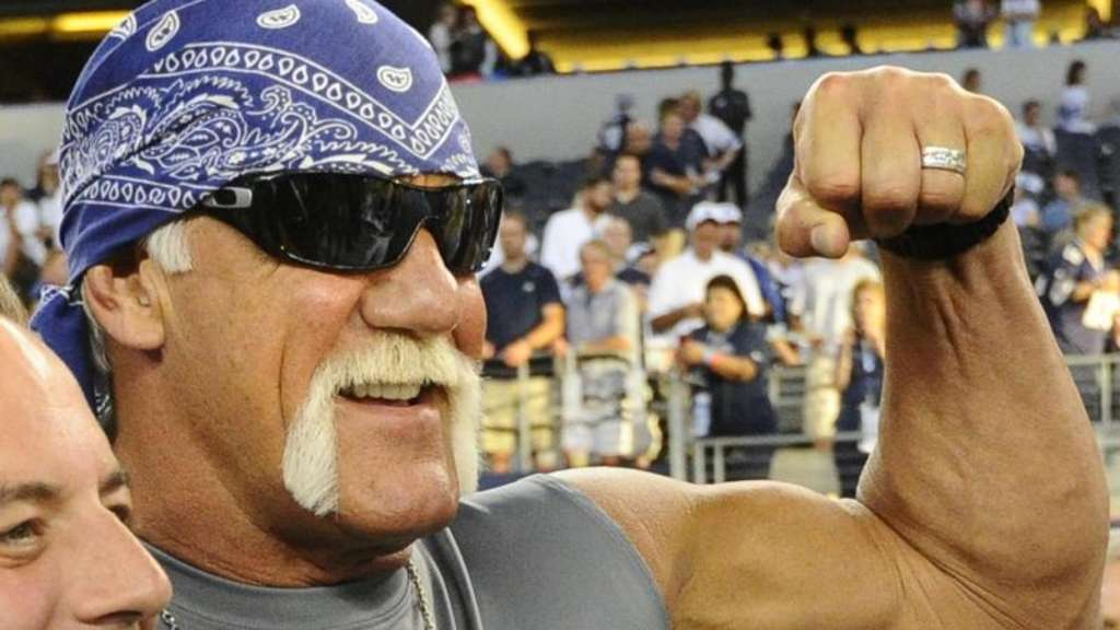 Hulk Hogan ist sauer. Foto: Larry W. Smith