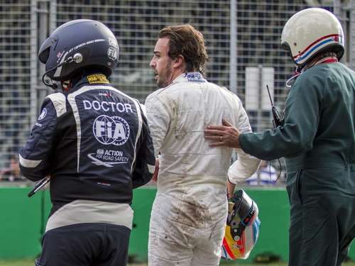 "Alonso nach Unfall: ""Luckiest man alive"""