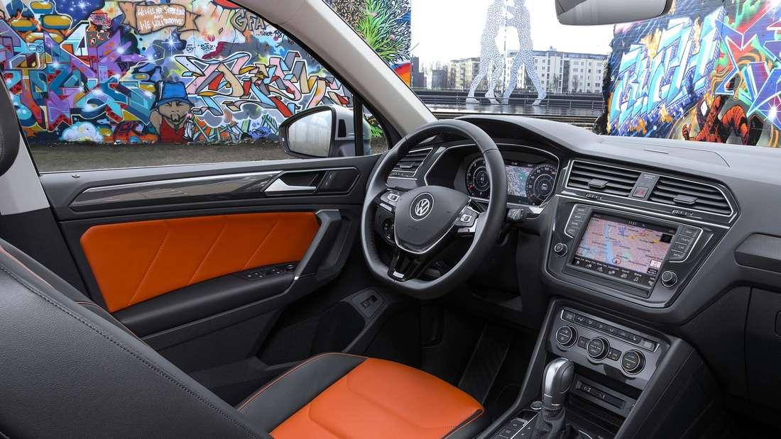 VW Tiguan Cockpit