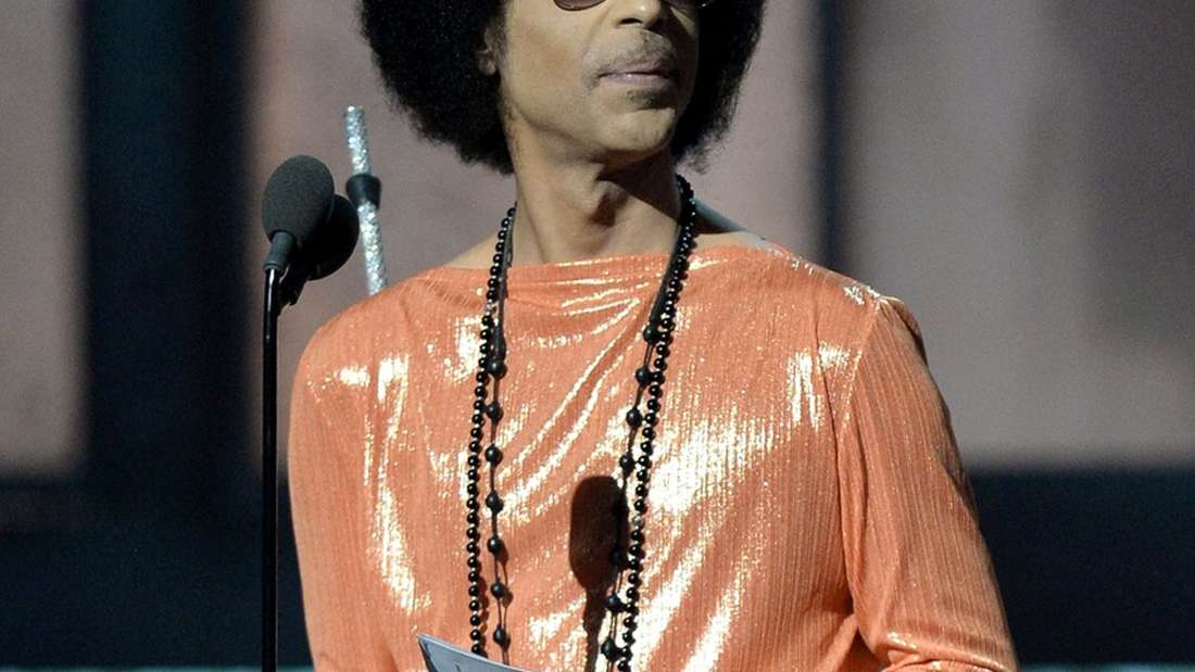 US-Pop-Gigant Prince ist tot: Bilder aus seinem Leben
