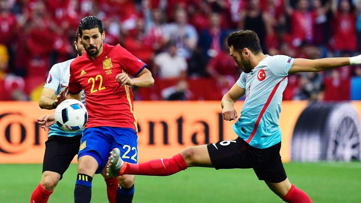 Em Spiel Spanien Türkei