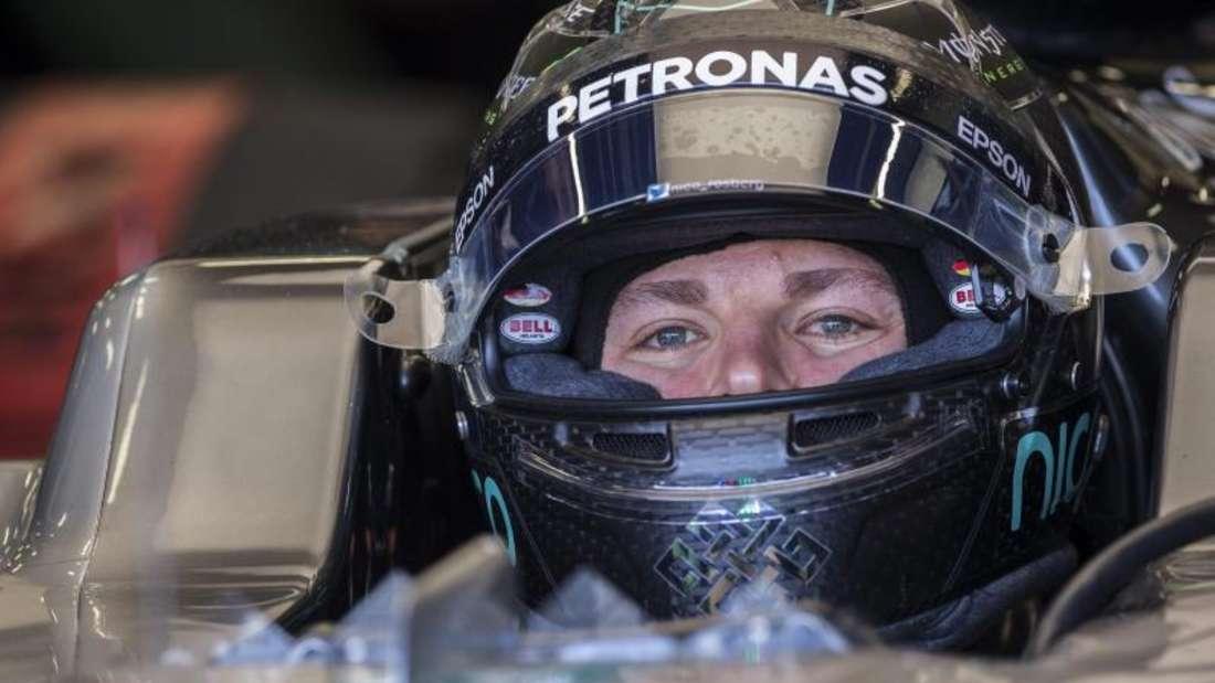 Nico Rosberg sicherte sich in Baku die Pole Position. Foto: Valdrin Xhemaj