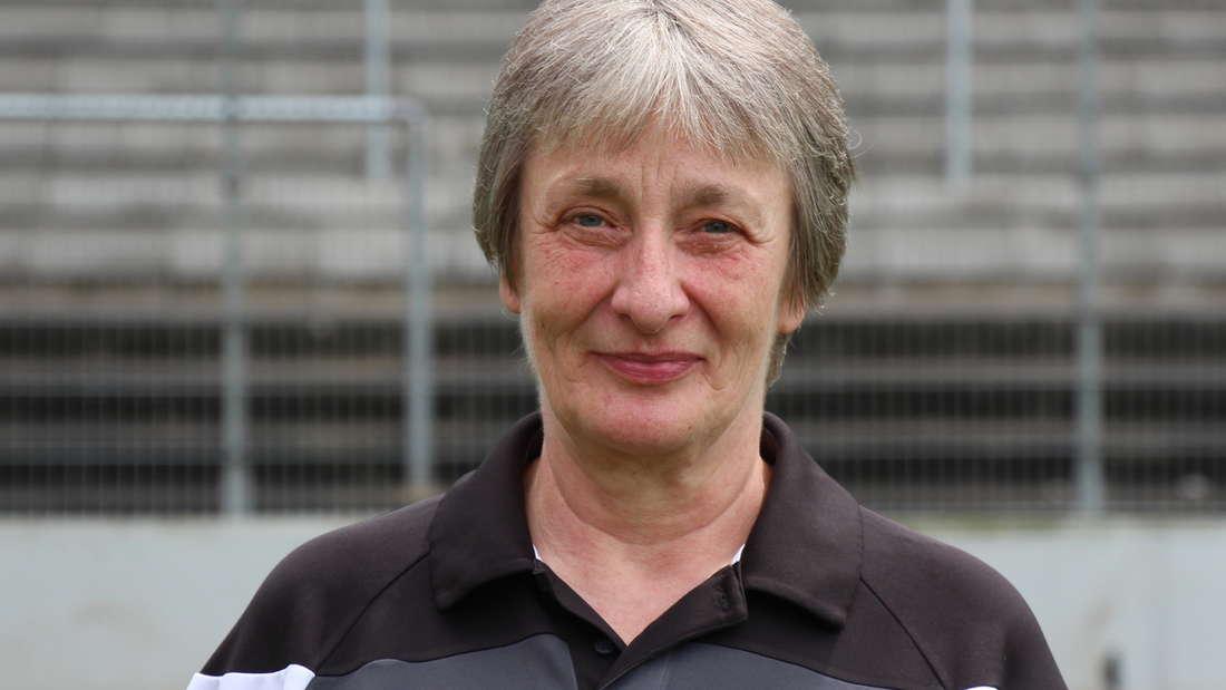Mannschaftsbetreuerin Monika Fenyö