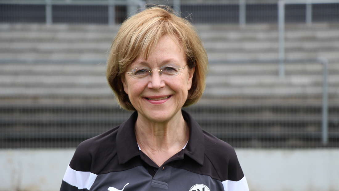 Mannschaftsärztin Dr. Brigitte Michelbach