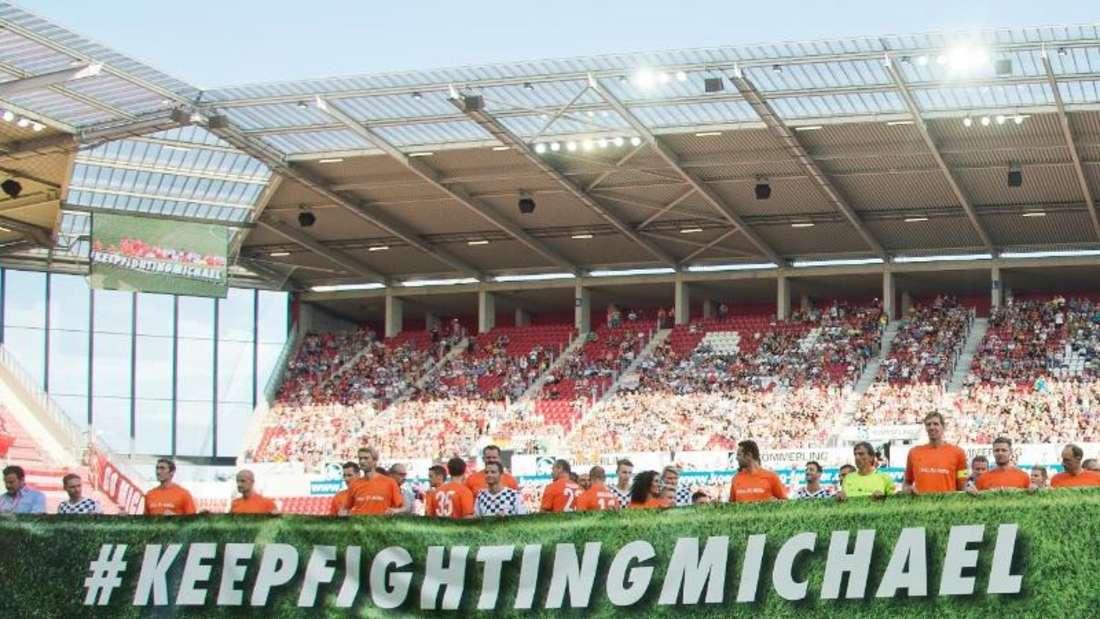 24 822 Zuschauer sind zum Benefizspiel in Mainz gekommen. Foto: Torsten Silz