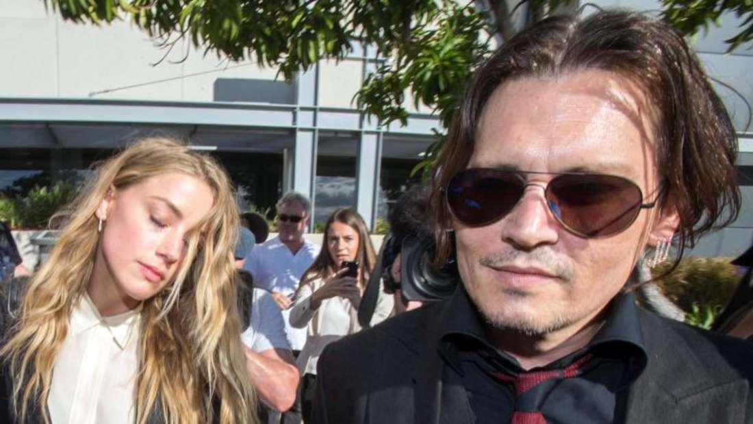 Johnny Depp und Amber Heard lassen sich scheiden. Foto:Glenn Hunt