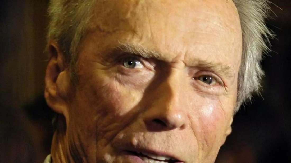 Clint Eastwood bekennt Farbe. Foto: Warren Toda