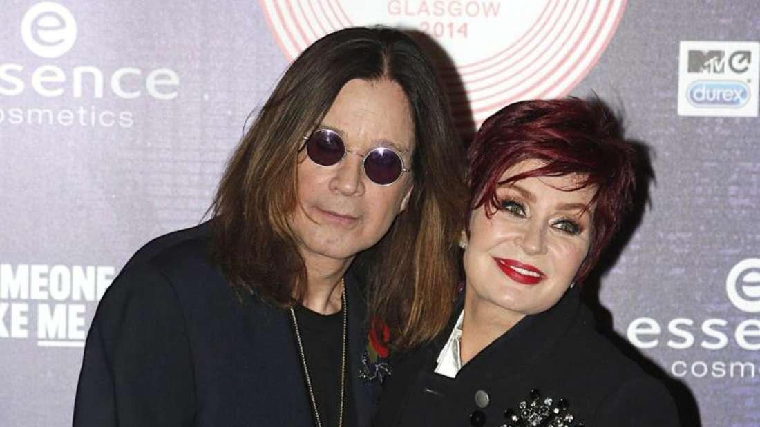 Ozzy und Sharon Osbourne machen harte Zeiten durch. Foto: Danny Lawson