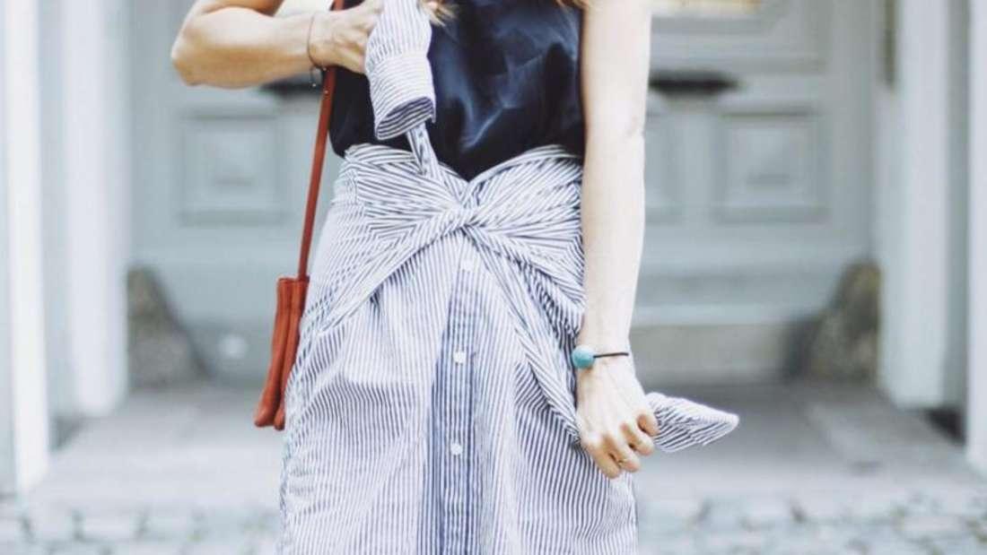 Ein Shirt-Skirt. Foto: This is Jane Wayne