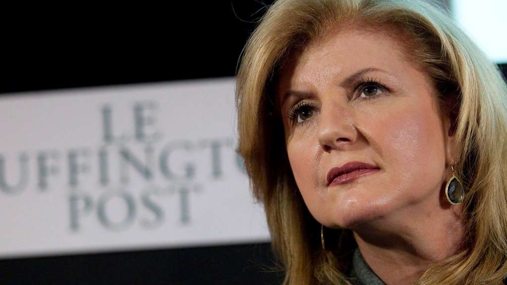Arianna Huffington to step down from Huffington post