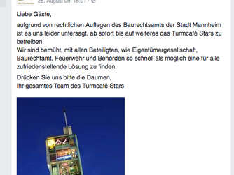 "Der traurige Post des ""Stars"" bei Facebook."