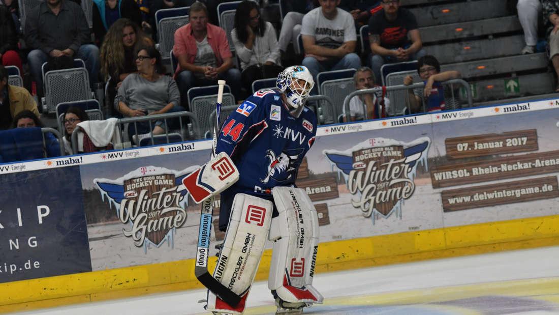 Adler Mannheim verlieren gegen die Kölner Haie.