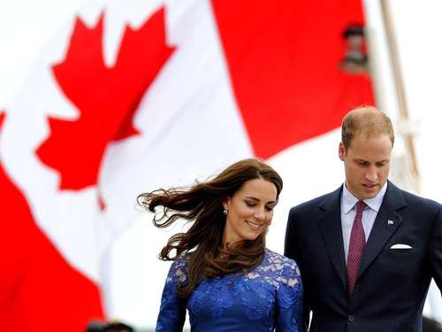 William und Kate fliegen mit Kids nach Kanada