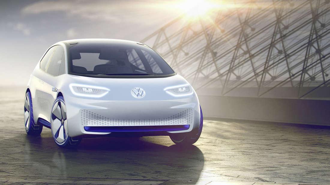 """Elektro-Auto von """"übermorgen"""": der Volkswagen I.D."""