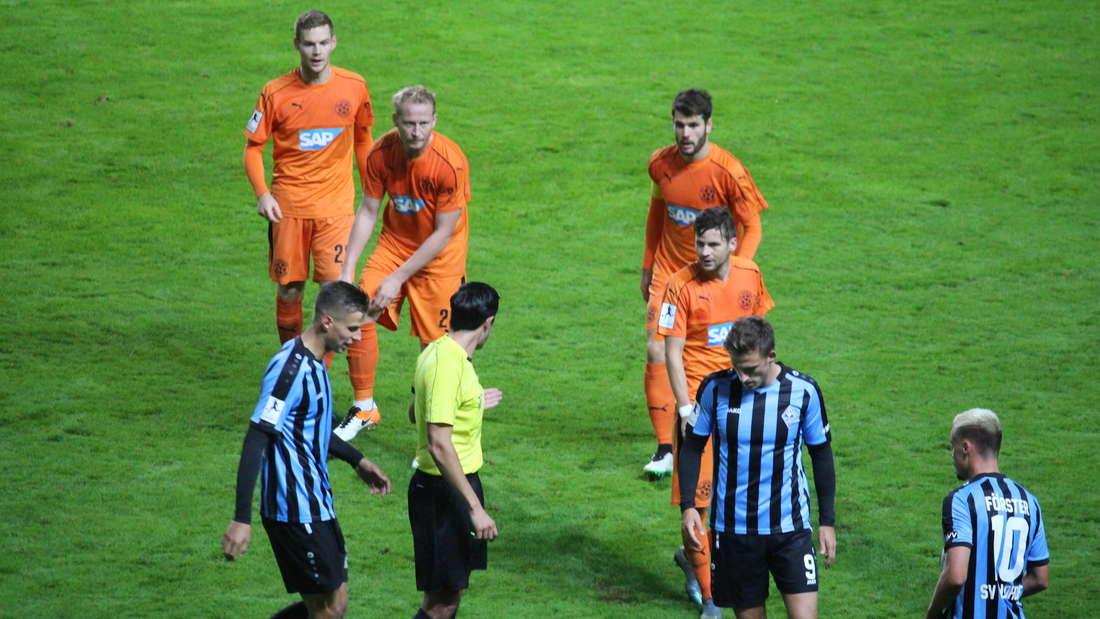 SV Waldhof gewinnt gegen den FC-Astoria Walldorf.