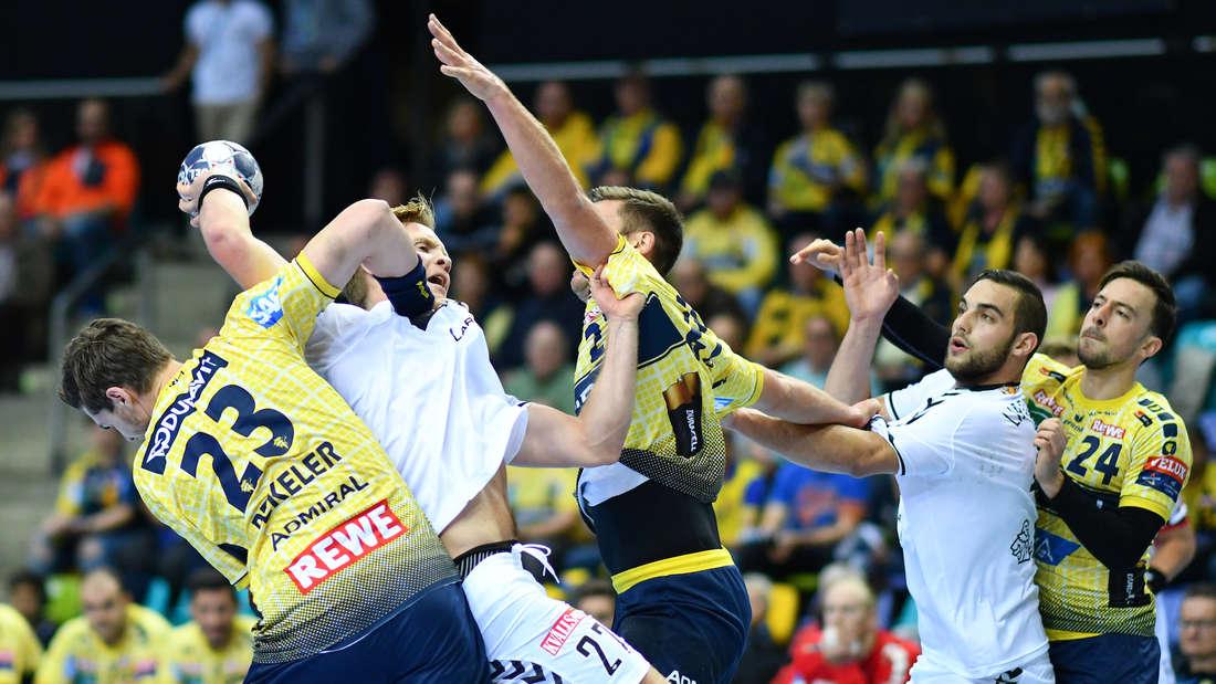 Rhein-Neckar Löwen gewinnen Champions-League-Heimspiel gegen IF Kristianstad.