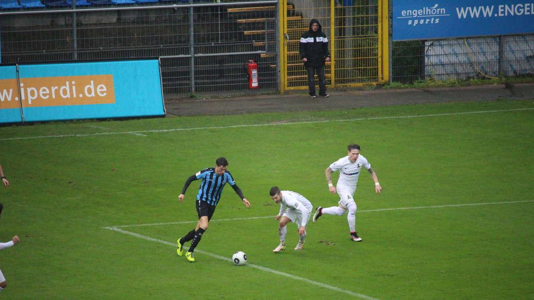 Der SV Waldhof gewinnt das letzte Spiel der Hinrunde im Carl-Benz-Stadion gegen Eintracht Trier mit 3:1.