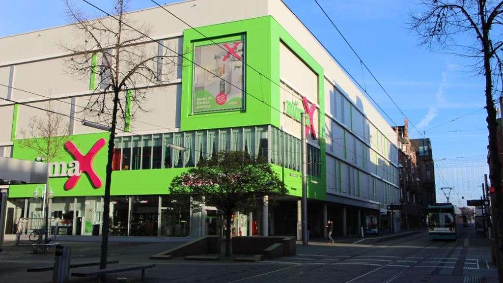 Mannheim innenstadt m belhaus m max in der breiten stra e for Einrichtungshaus heidelberg
