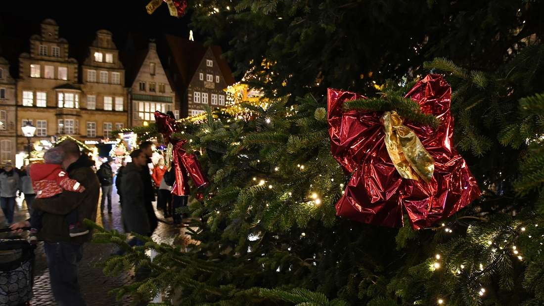 Weihnachtsmarkt in Bremen eröffnet