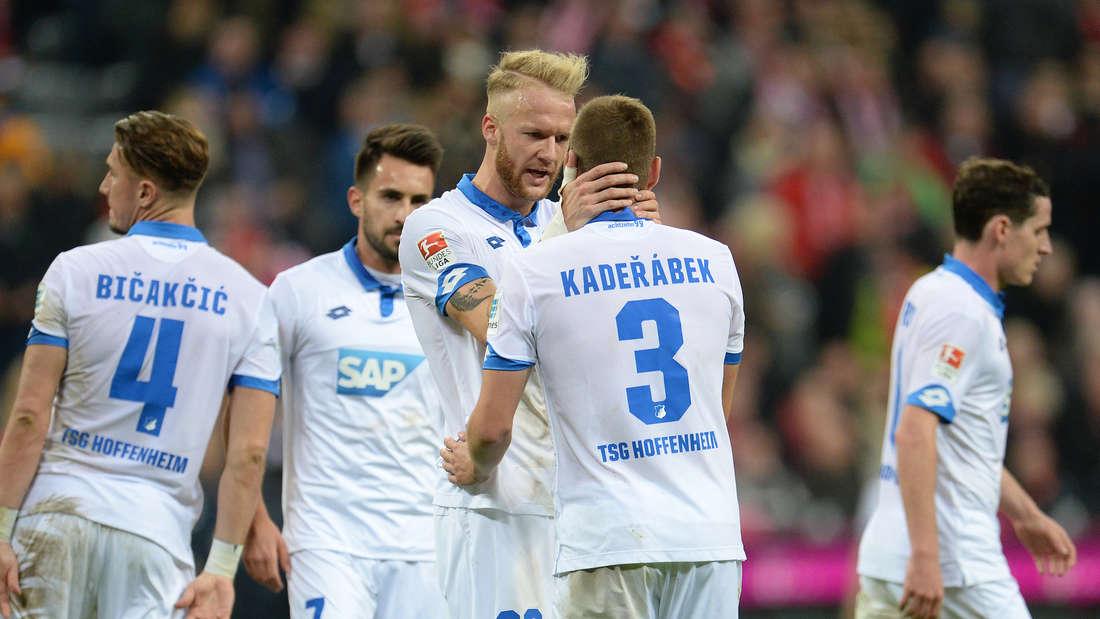 Die TSG Hoffenheim will auch in Gladbach wieder jubeln.