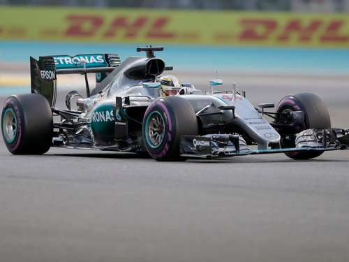 Grand-Prix in Abu Dhabi: Hamilton holt Pole-Position vor Rosberg