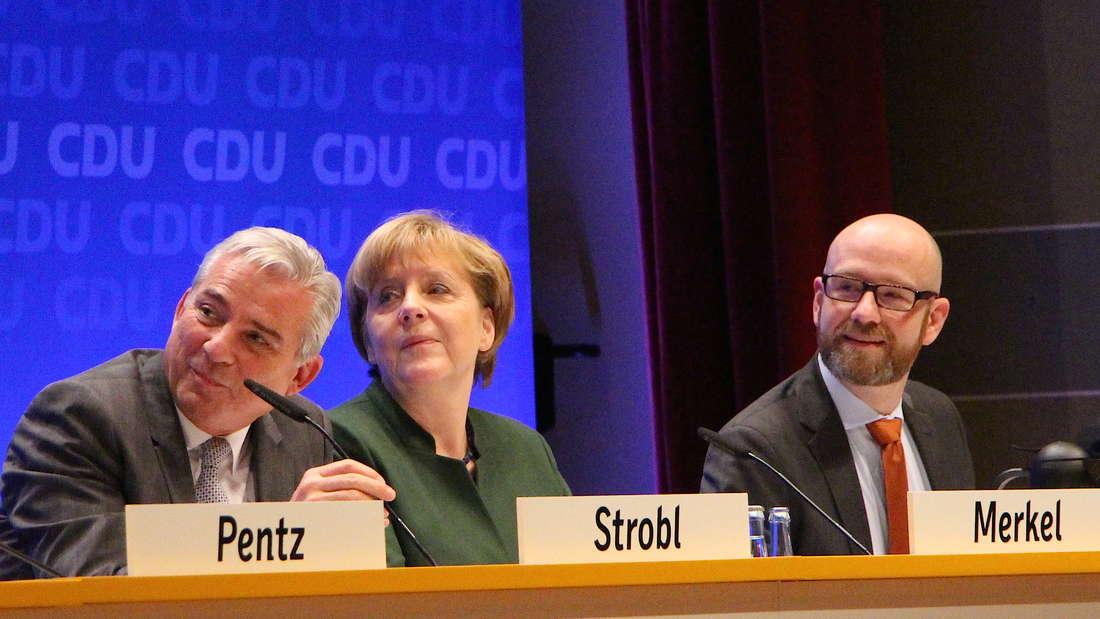 ... dies wird von Merkel, Strobl und Tauber eher milde belächelt.