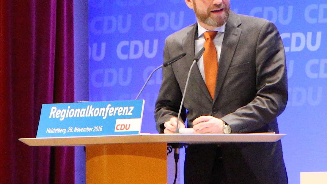 CDU-Generaldirektor Dr. Peter Tauber.