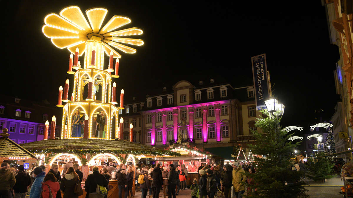 Pinker Weihnachtsmarkt.Heidelberg Altstadt Fotos Dritter Pink Monday Im Rahmen