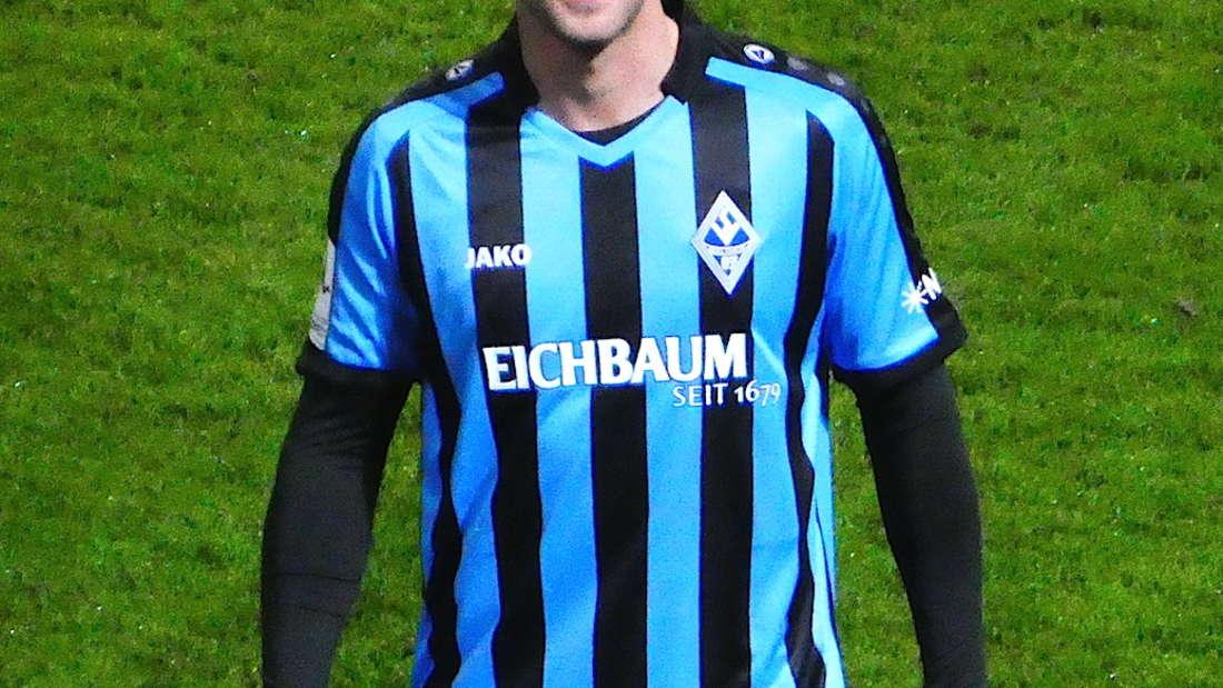 Marco Müller im neuen Trikot.