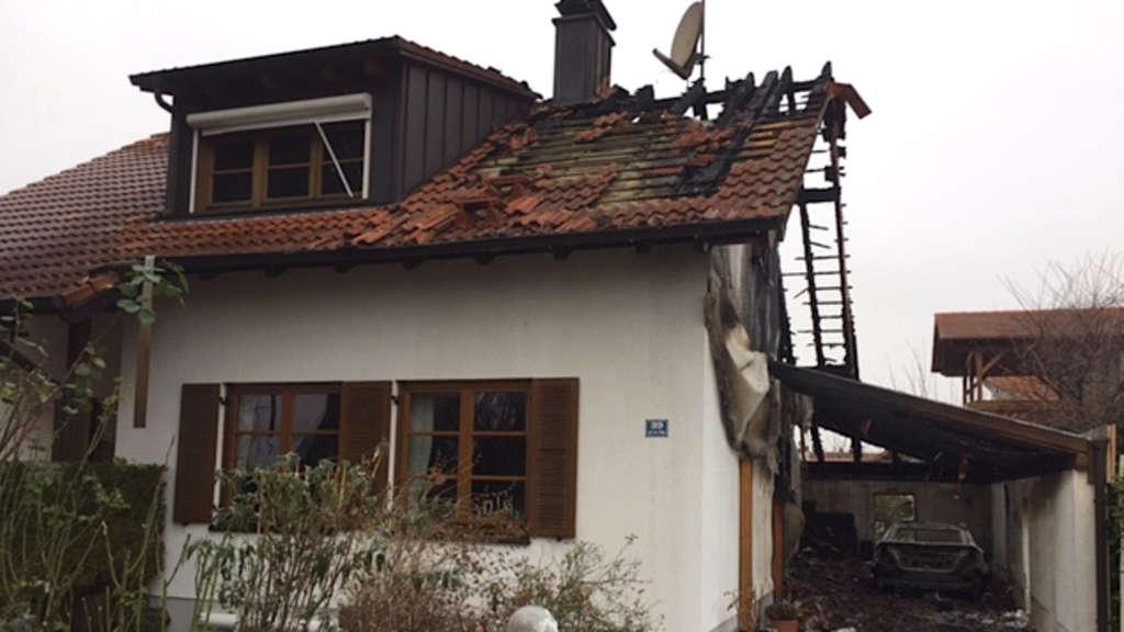 meckenheim euro schaden bei brand in einfamilienhaus auf der h he region. Black Bedroom Furniture Sets. Home Design Ideas