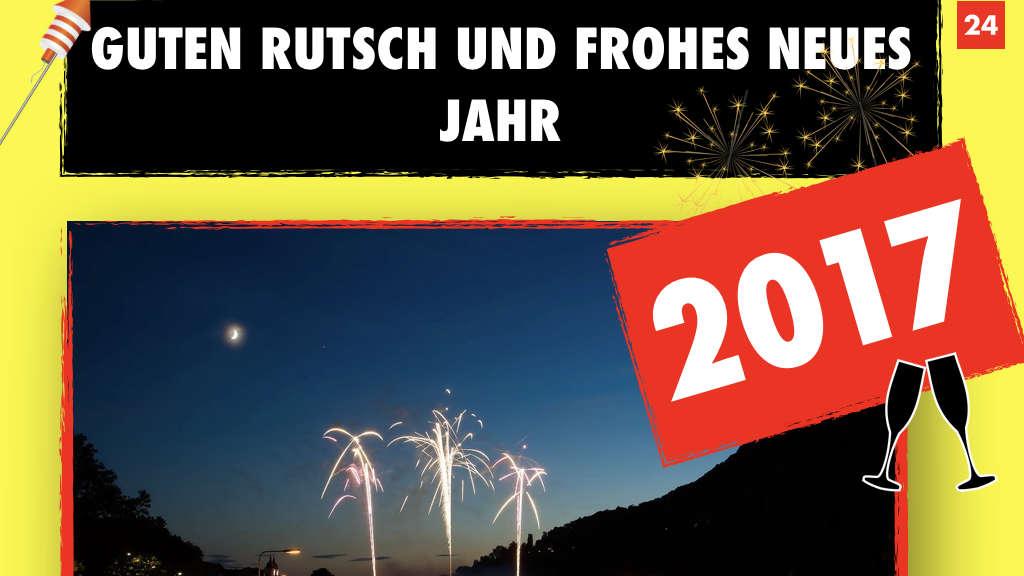 Heidelberg: Wir wünschen allen ein frohes neues Jahr 2017 | Heidelberg