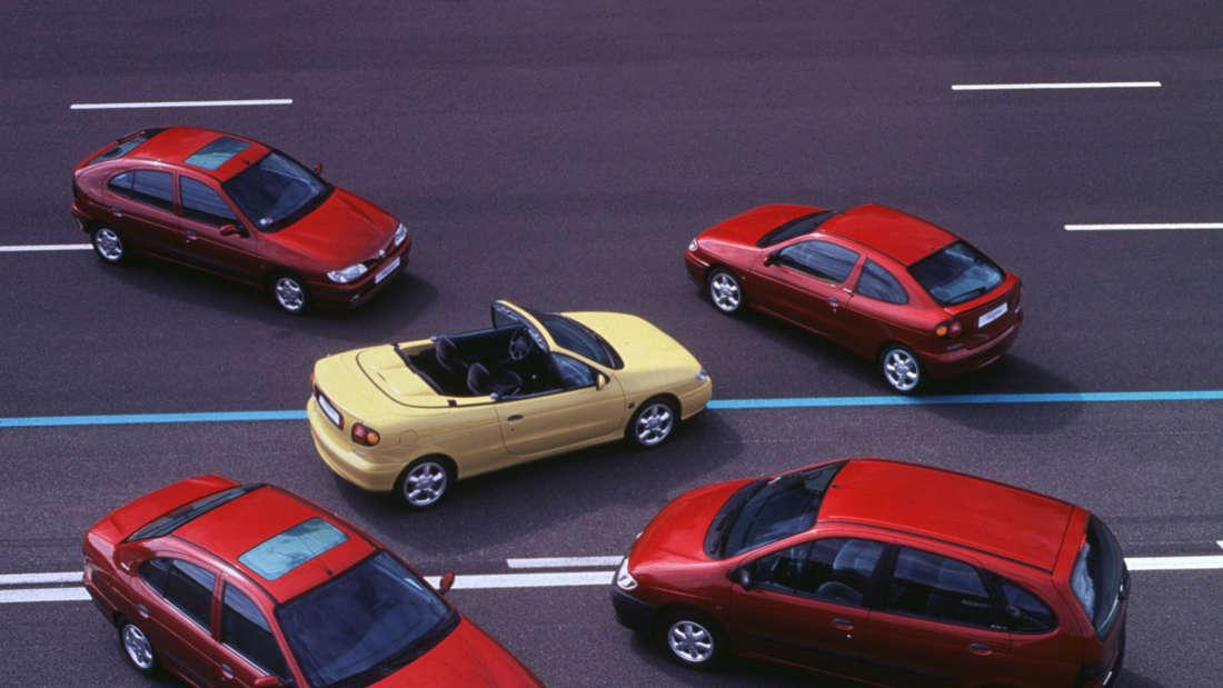 Renault Mégane-Familie 1997.