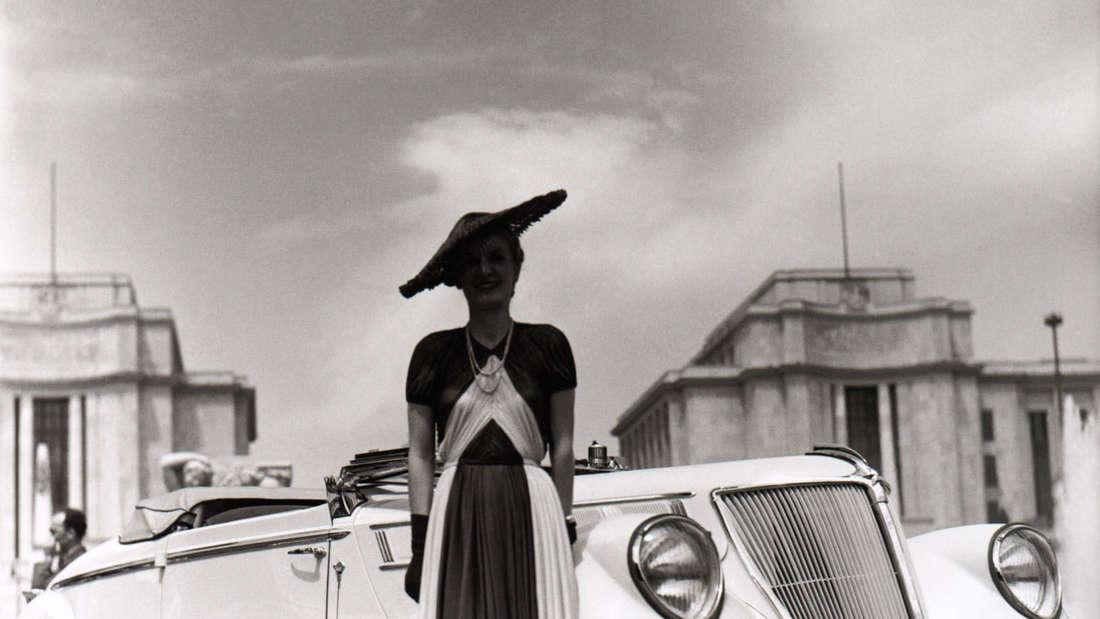 Renault Viva Grand Sport Werbung von 1936.