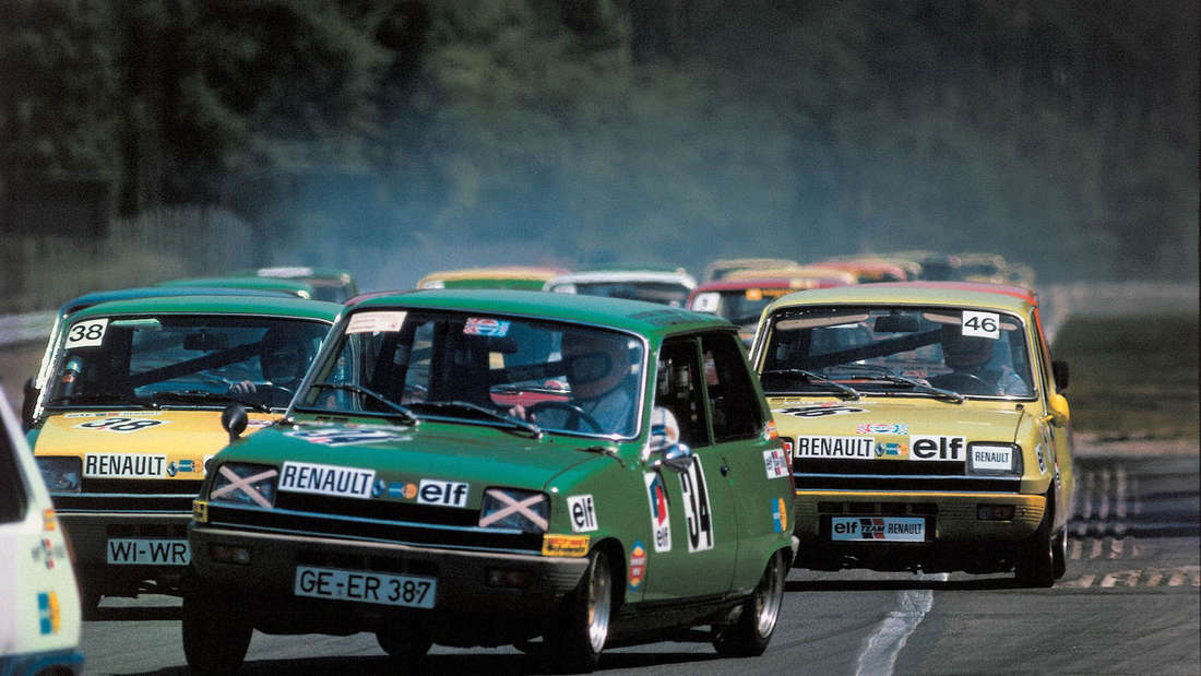Renault Händler 1973.