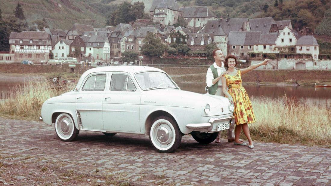 RenaultDauphine 1960.