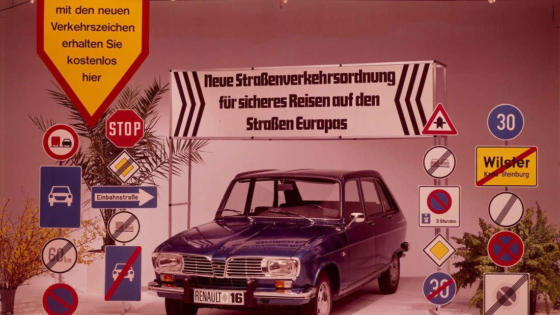 Renault 16 - Werbung aus dem Jahr 1973.