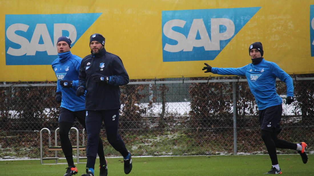 Trainingsauftakt: TSG Hoffenheim startet in die Vorbereitung auf die Rückrunde.